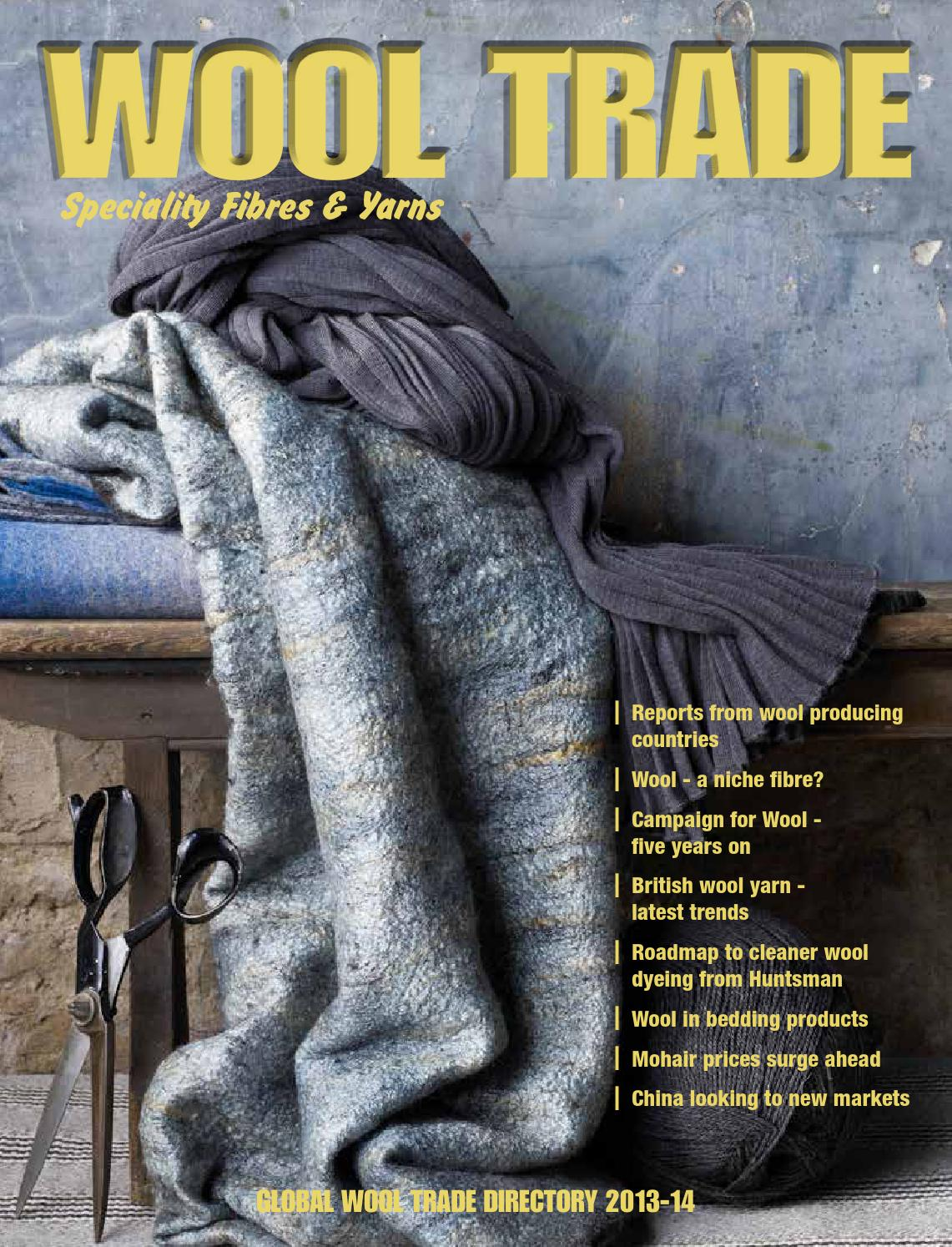 Wool Trade 2016 By Victor Chesky Issuu