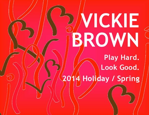 new style d8a10 2f5f9 Vickie Brown Tennis 2014 Holiday   Spring Catalog