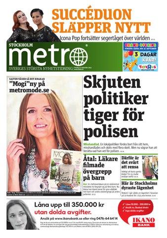 info for 5deb1 d82bd 20130925 se stockholm by Metro Sweden - issuu