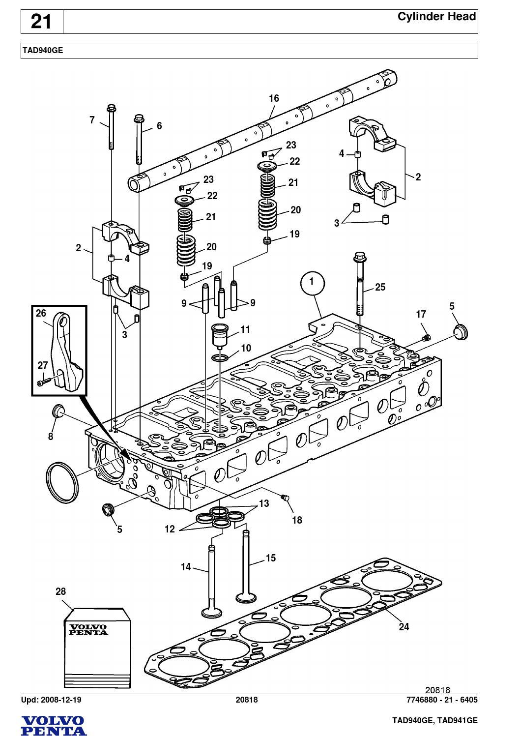 volvo penta tad940ge tad941ge by power generation issuu rh issuu com Parts List Parts Catalog