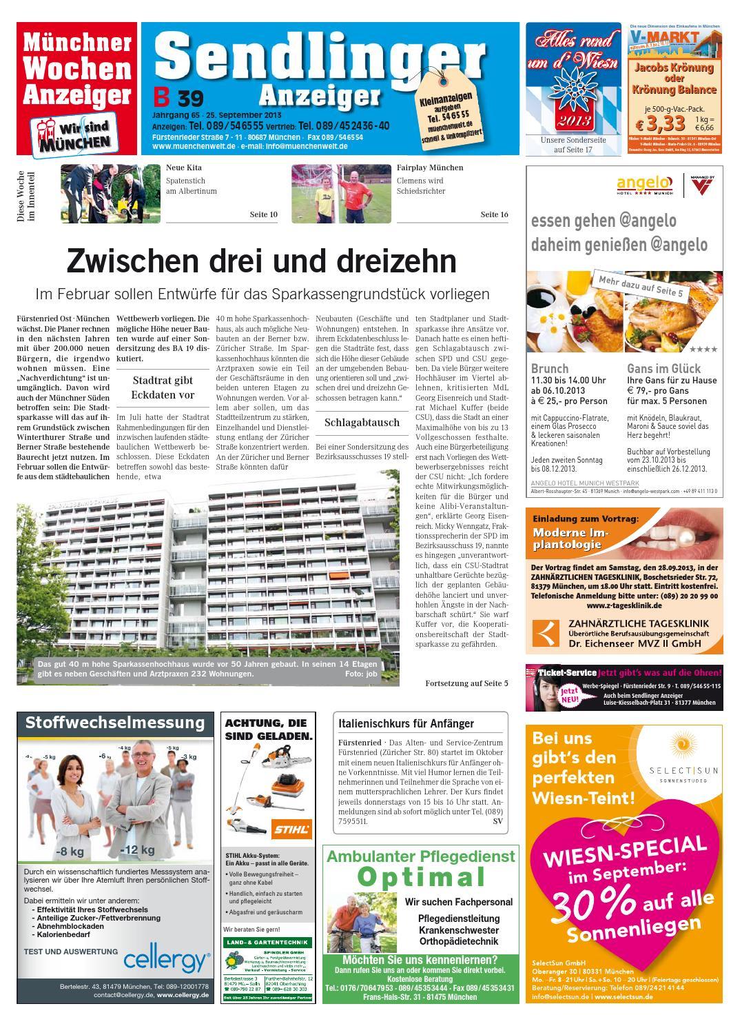 e62fdb099d78f7 KW 39-2013 by Wochenanzeiger Medien GmbH - issuu