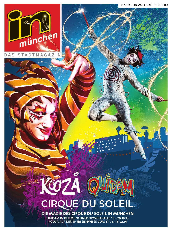 in münchen Ausgabe Nr. 19/2013 by InMagazin Verlags GmbH - issuu