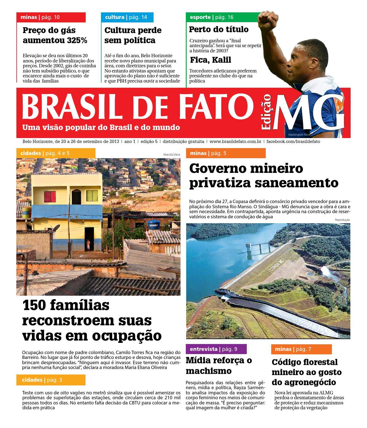 1cd0a9e63 Edição 005 do Brasil de Fato MG by Brasil de Fato MG - issuu