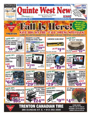 b1e8117f8a Quintewest092613 by Metroland East - Quinte West News - issuu