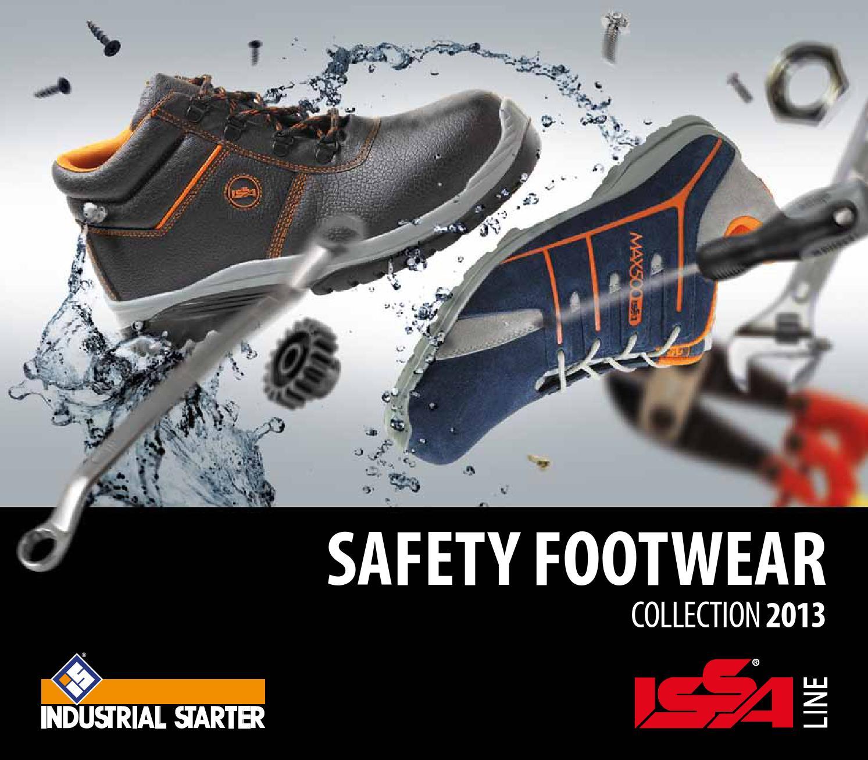 Catalogo scarpe antinfortunistiche da lavoro Industrial Starter IssaLine  2013 by Industrial Starter S p.A. - issuu 862d6037ece