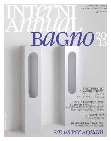 Carbonari Luciano Arredo Bagno.Interni Annual Bagno 2013 By Interni Magazine Issuu