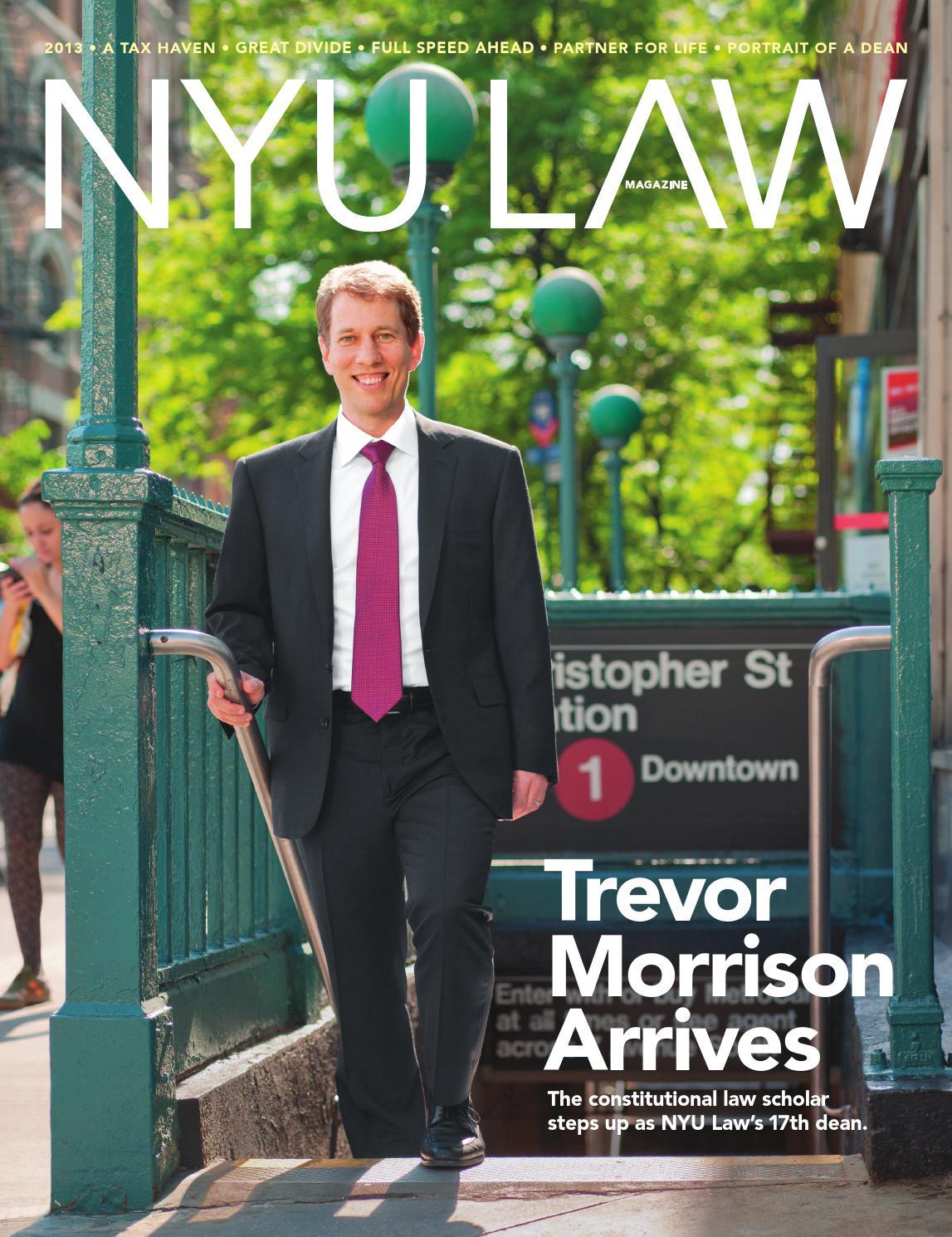 04256e4e7266 NYU Law Magazine 2013 by NYU School of Law - issuu