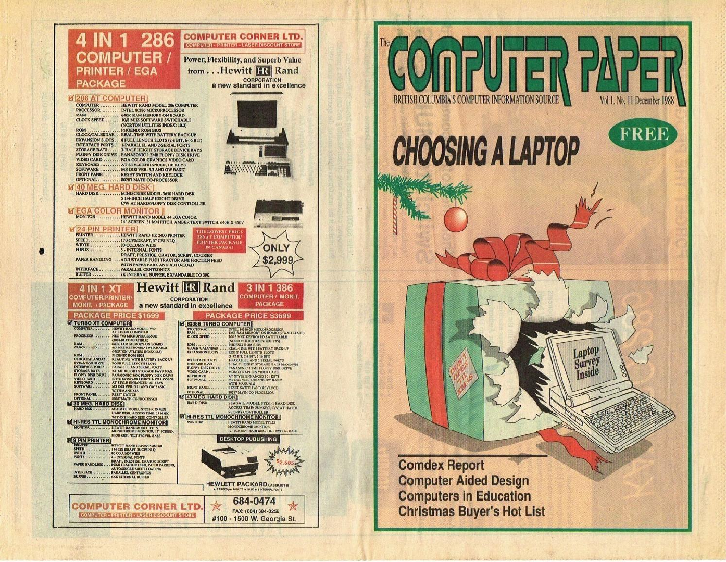 1988 12 The Computer Paper By The Computer Paper Issuu - 5mmo roblox robux generator tutorial