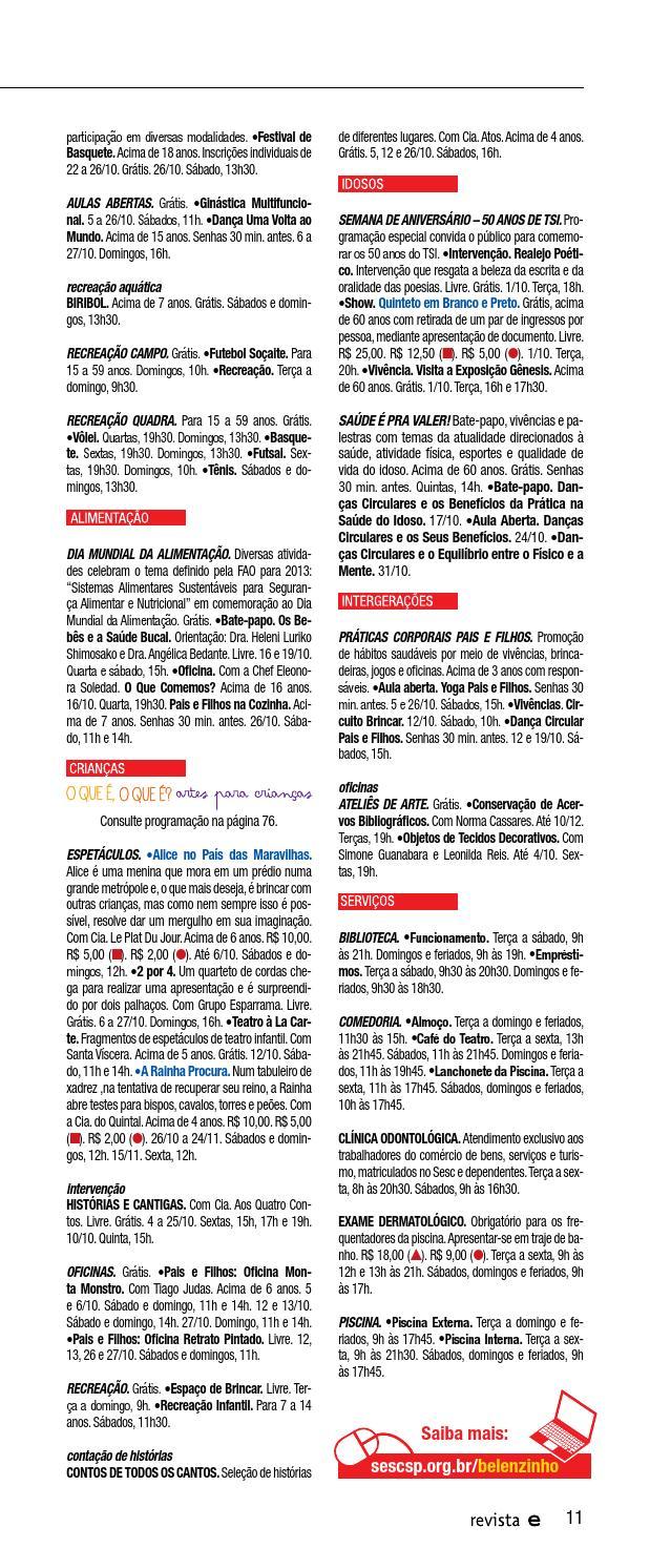 d7fdd40b5 Revista Em Cartaz | Outubro 2013 by Sesc em São Paulo - issuu