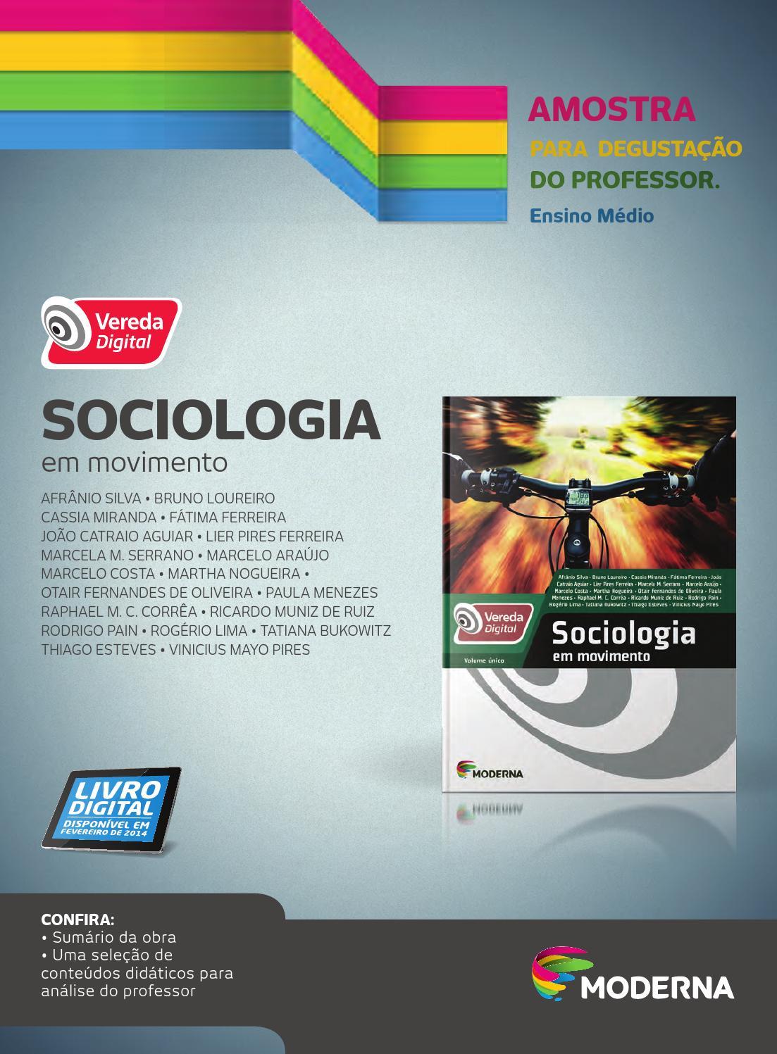a24f520462cc2 Vereda Digital Sociologia by Editora Moderna - issuu