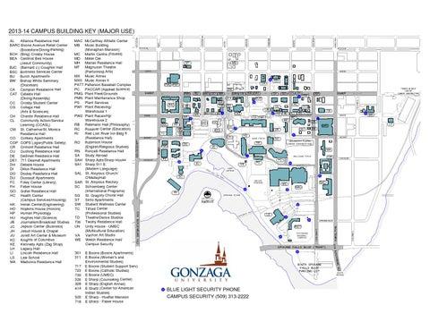 Gonzaga University Campus Map By Gonzaga University Issuu