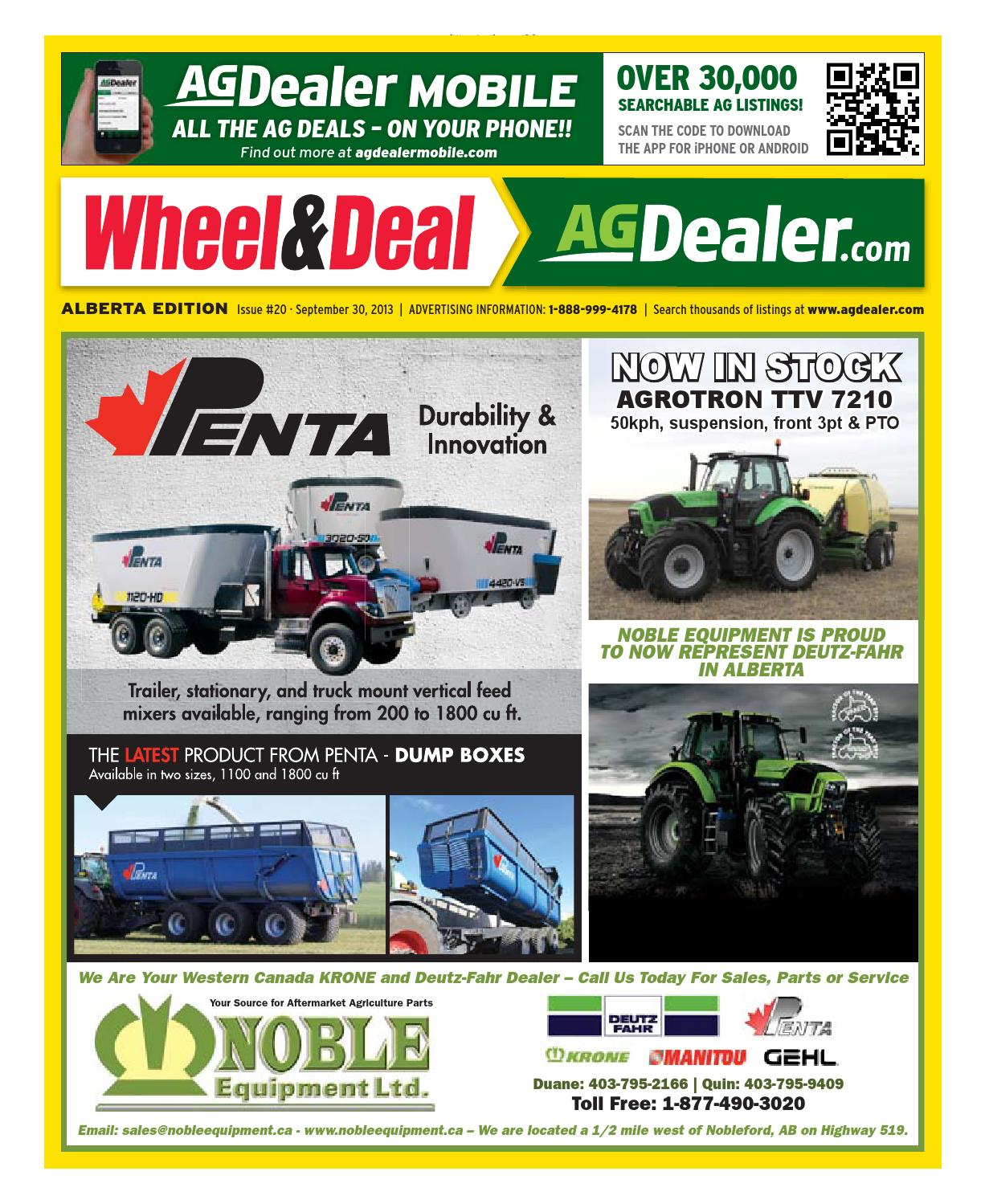Wheel Amp Deal Alberta September 30 2013 By Farm Business Curt 51322 Brake Control Wiring Harness With Quick Plug Camper Trailer Communications Issuu
