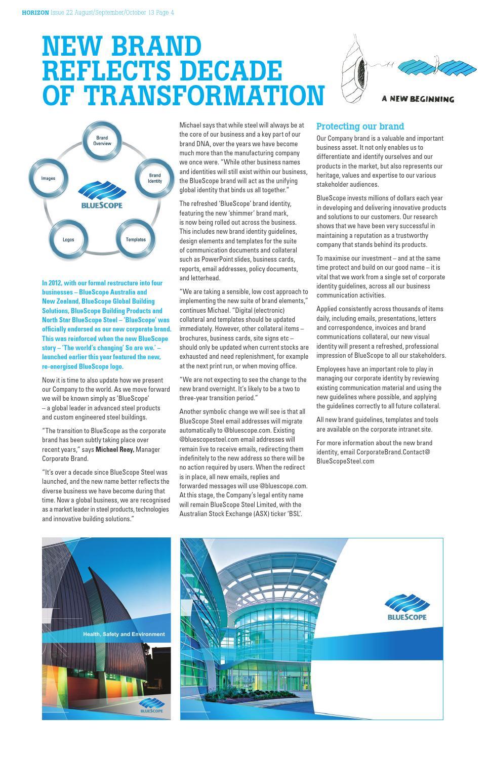 Horizon Issue 22 by BlueScope - issuu