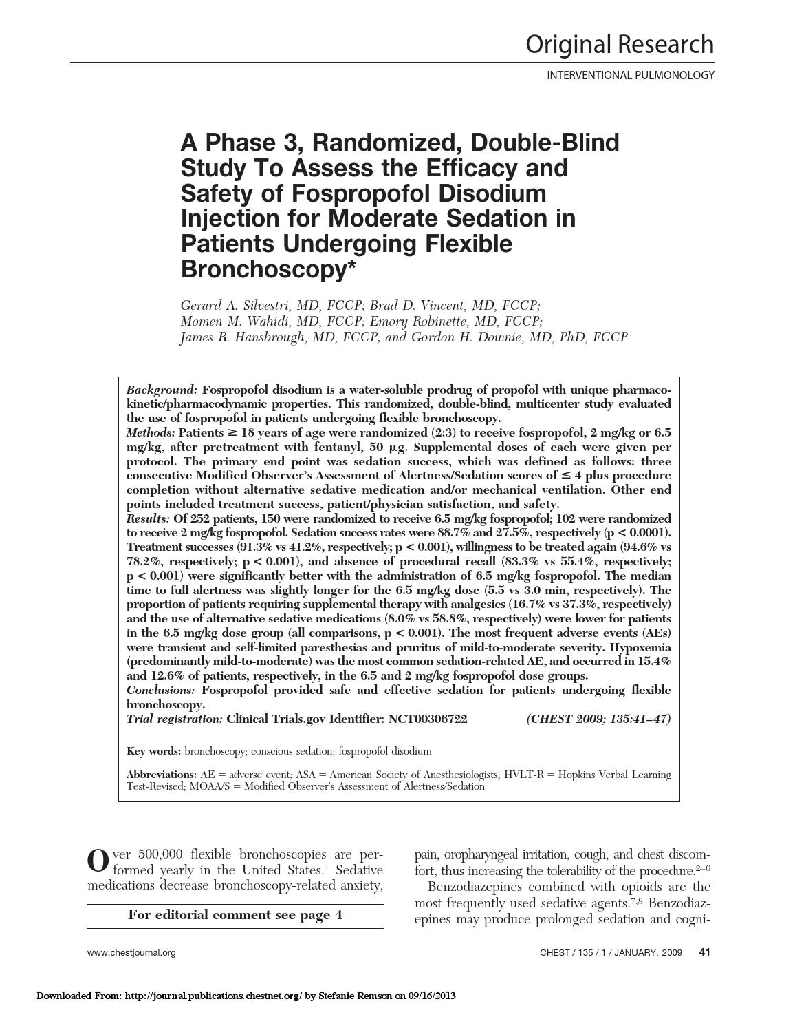 A phase 3, randomized, double blind study to assess the ...