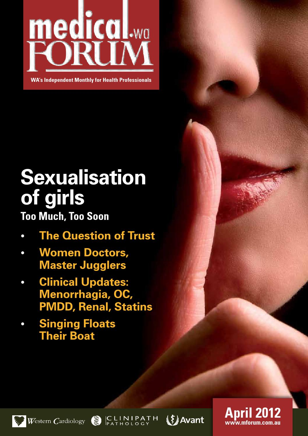 Medical Forum 04/12 Public Edition by Medical Forum WA - issuu