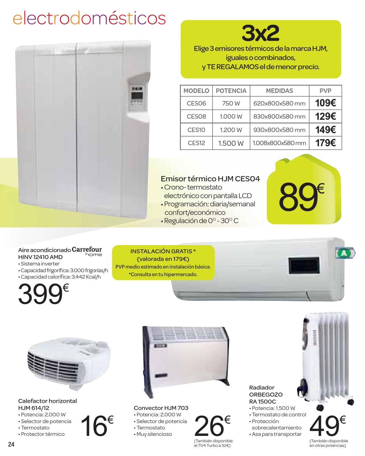 Carrefour hogar catalogo by issuu - Emisores termicos carrefour ...