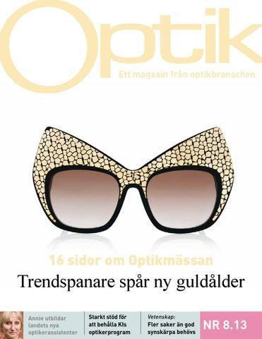 Page 1. Ett magasin från optikbranschen 804dad0fb7487