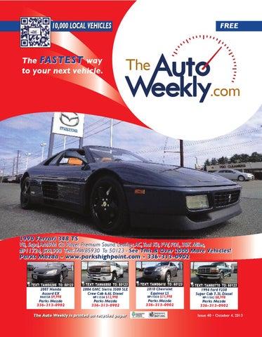 Issue 1340b triad edition by The Auto Weekly - issuu