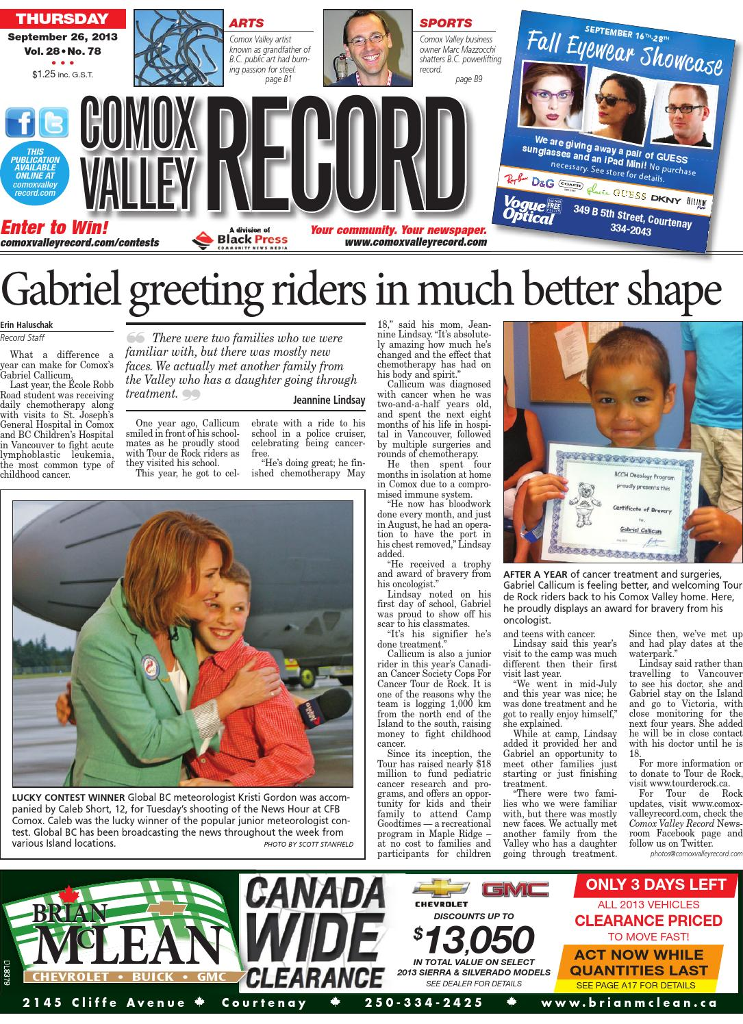 Comox Valley Record September 26 2013 By Black Press Issuu Silky Girl Lip Matte Fever 03 Flame 402153