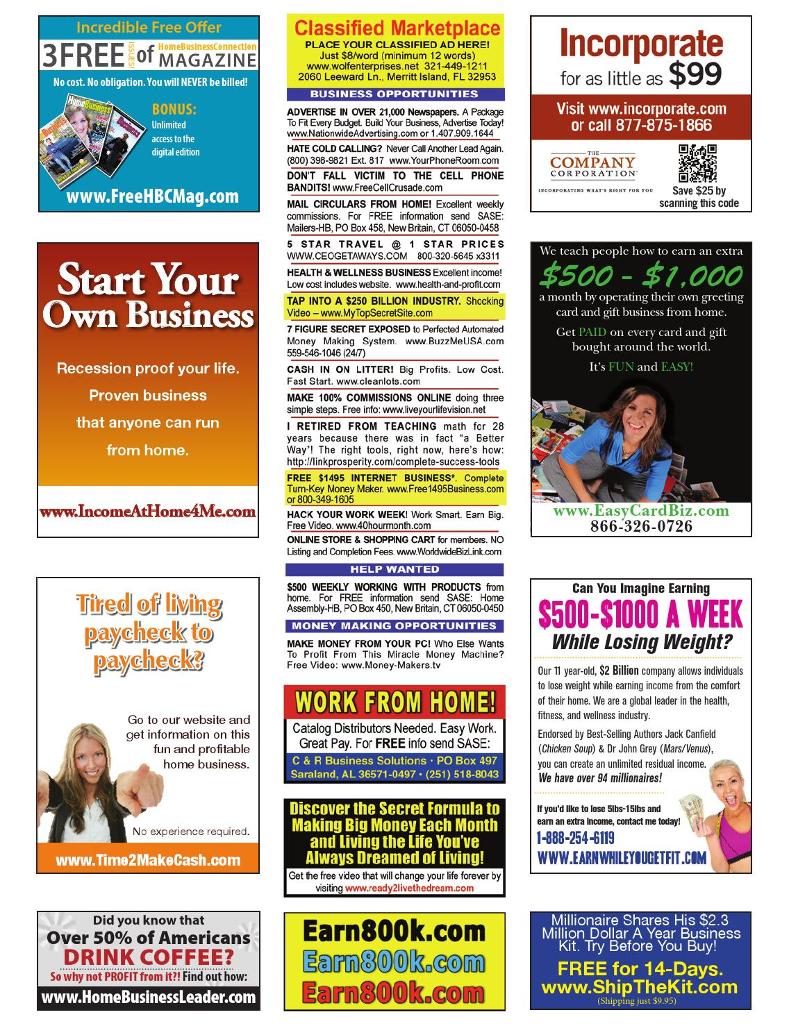 Home Business Connection Magazine October 2013 By Cutting Edge
