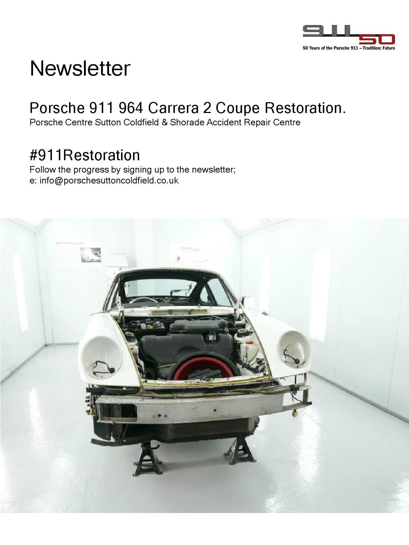 Porsche 911restoration Issue 5 By Vic Ray Issuu