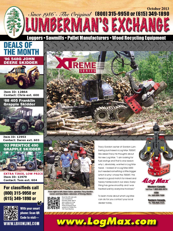 Lumberman's Exchange by Lumbermens Magazine   Quality Used Equipment Since  1986 - issuu