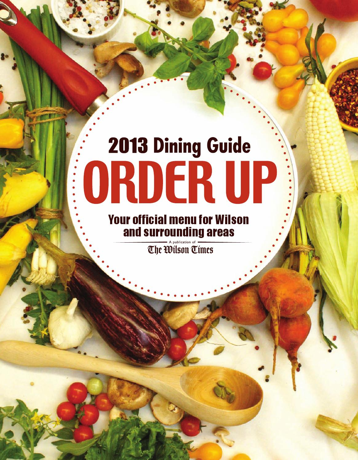 dining guide 2013 by the wilson times co issuu