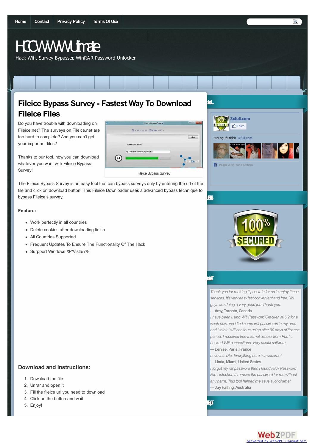 fileice survey bypasser - download without survey - 3xfull com by