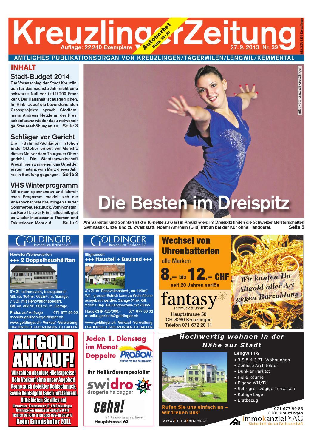 Klz 39 by KreuzlingerZeitung - issuu