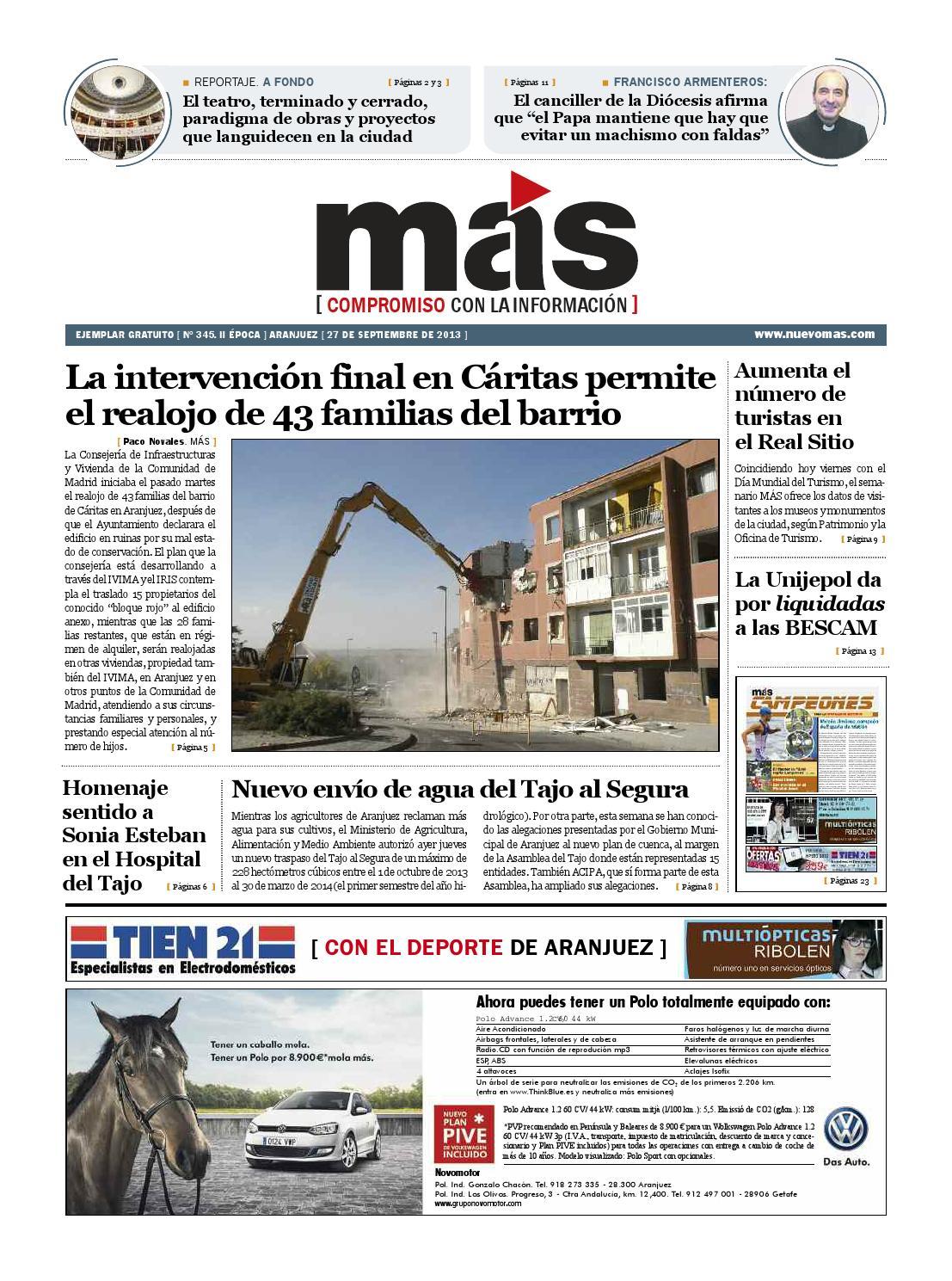 Mas 345 27 de septiembre 2013 by m s aranjuez issuu - Oficina de turismo de aranjuez ...