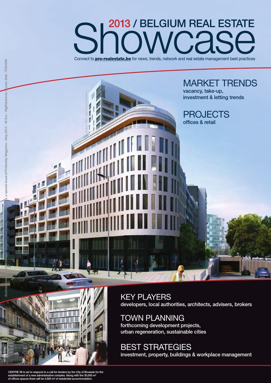 Société Générale De Rénovation Batiment Bruxelles belgium real estate showcase 2013 - full editionbusiness