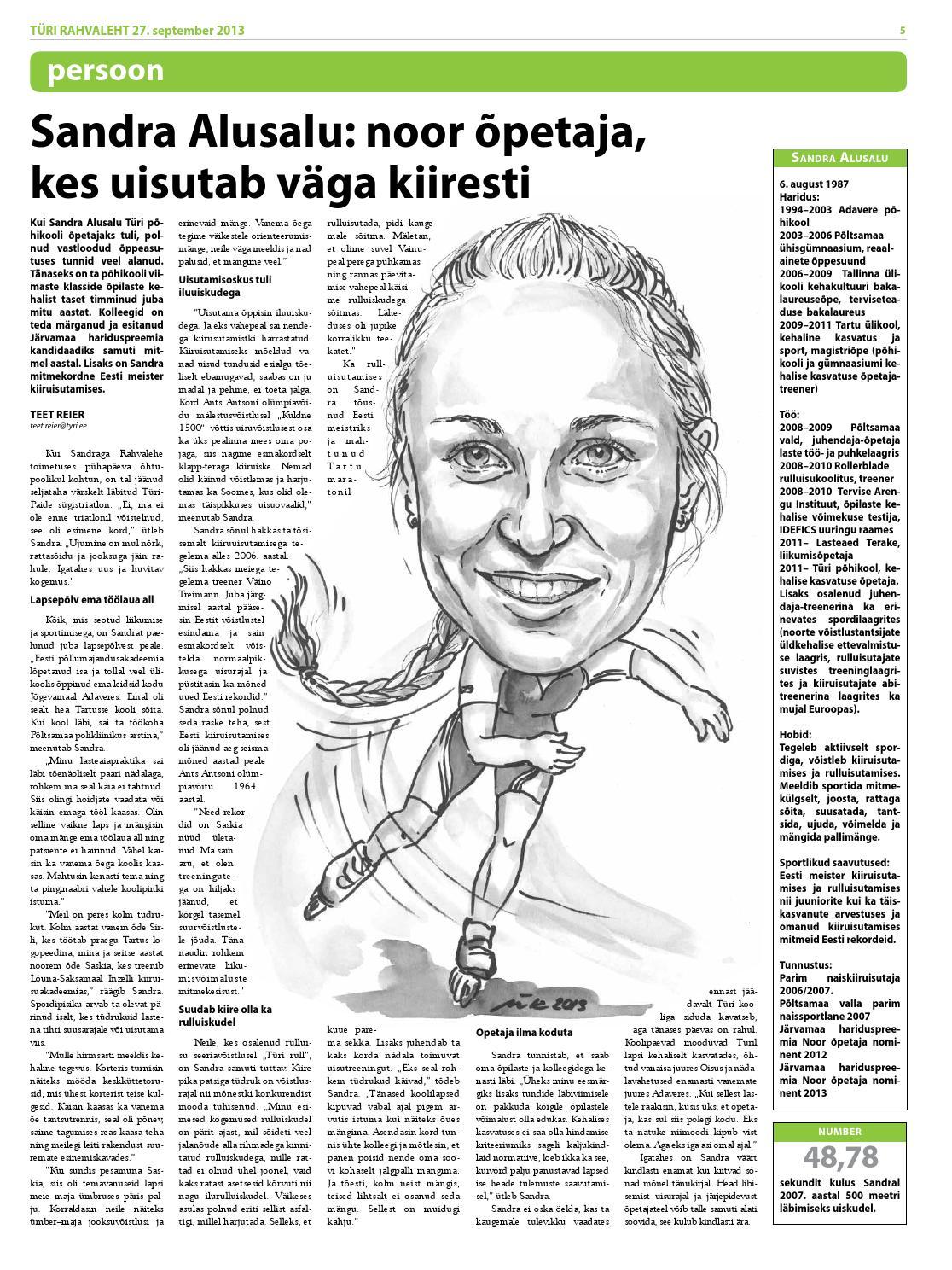 0a397cfcf37 27.09.2013 - Türi Rahvaleht by Tyri Development Agency - issuu