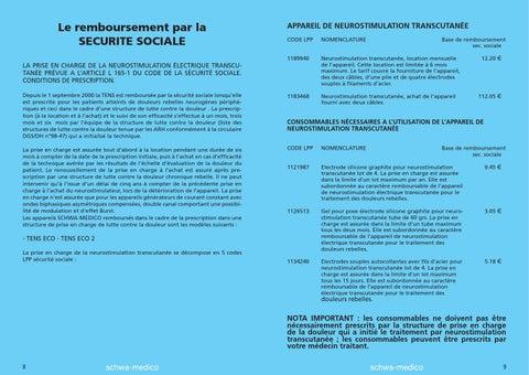 TENS - Livret d'information patient by SCHWA-MEDICO - Issuu