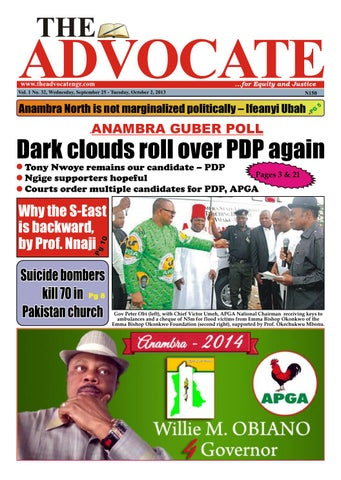 Dark clouds roll over PDP again by Advocate Nigeria - issuu