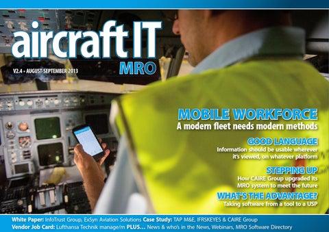 Kết quả hình ảnh cho Shift To Mobile MRO Software Continues images