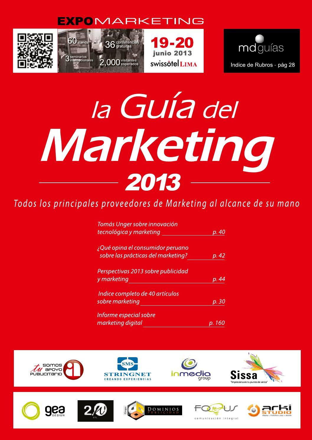 Guía del Marketing 2013 by Moises Chavez - issuu