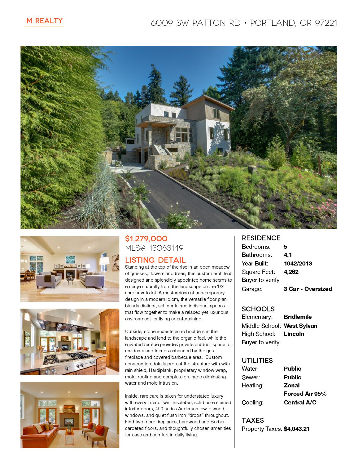 6009 Sw Patton Rd U By M Realty Issuu
