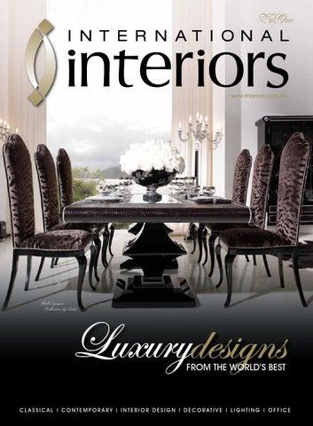 luxus hotel interieur paris angelo cappelini, international interiors catalogue by internationalinteriors - issuu, Design ideen