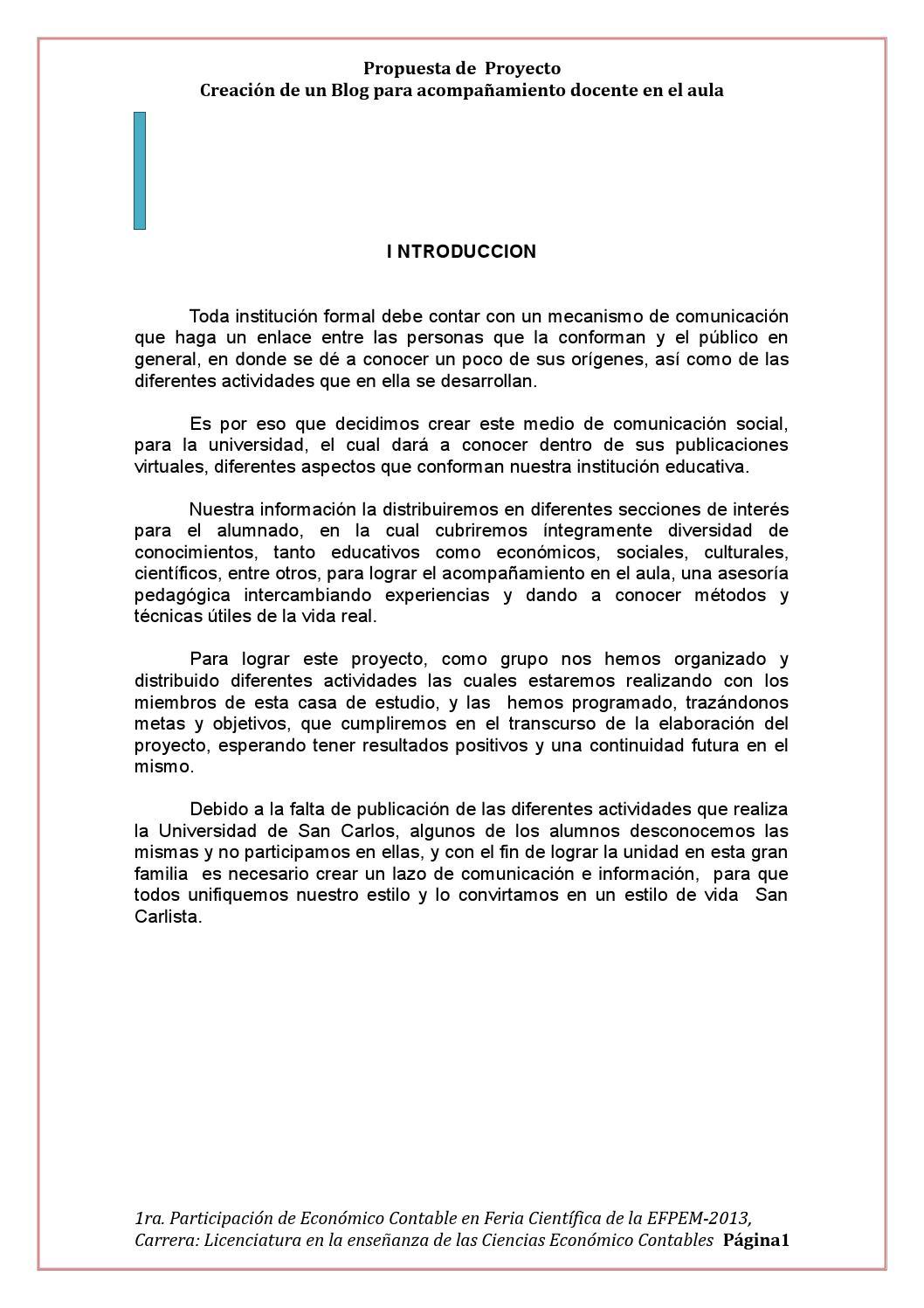 Anteproyecto de efpem feria by Economicio Contable - issuu