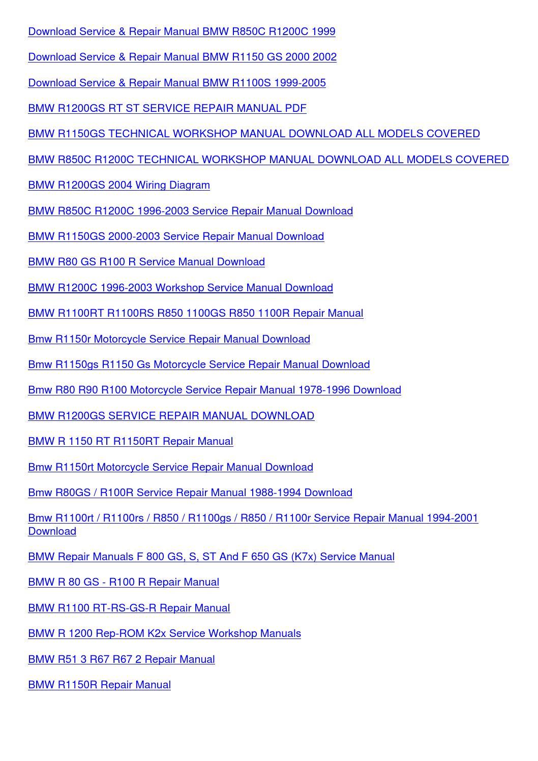 Bmw R1100Rs Wiring Diagram from image.isu.pub
