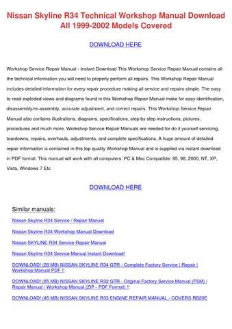 nissan gtr 2013 factory service repair manual pdf