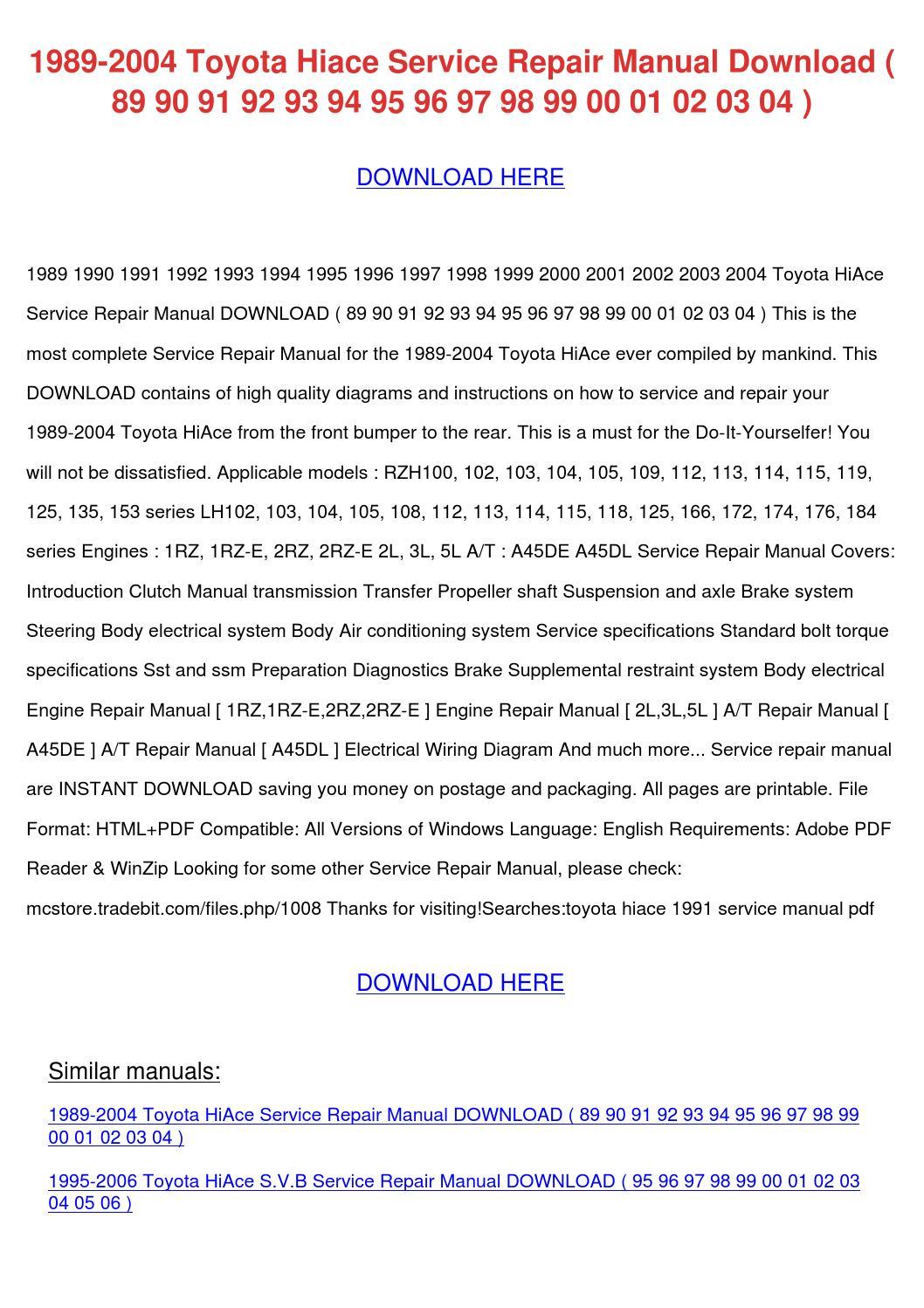 Toyota 2lt Engine Rebuild Manual Ebook Targa Venom 4 Channel Amp Wiring Diagram 17 Hilux Diagramas Electricos Array Rh Nitror