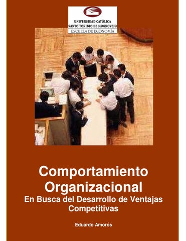 texto de comportamiento organizacional by hugo rodr237guez