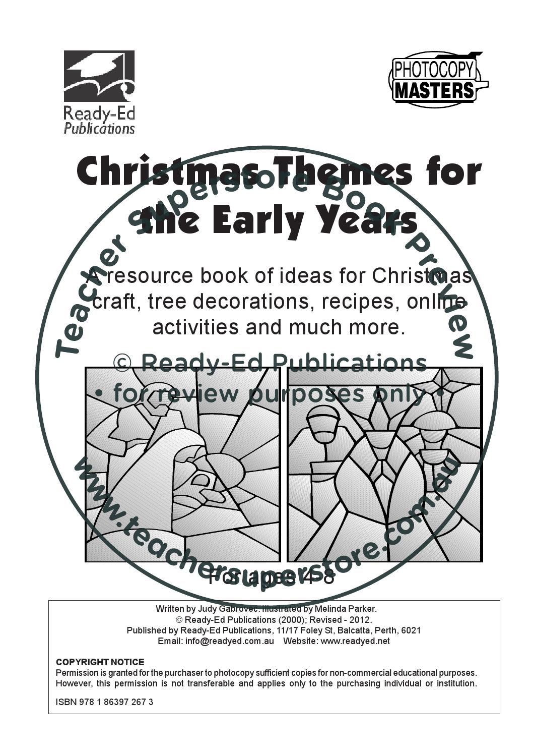 Christmas Themes For The Early Years By Teacher Superstore Issuu