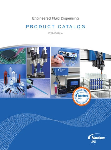 Nordson Efd Product Catalog By Amr Hanafy Issuu