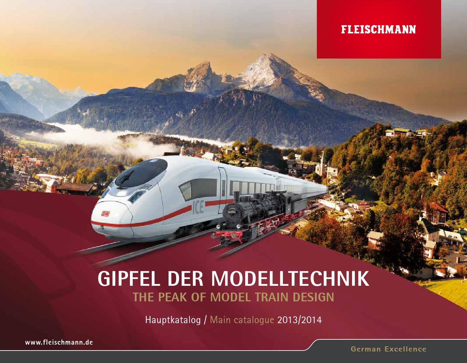 Fleischman 9414 ansteckbarer elektroantrieb per l/'hand-entkupplungsgleis 9114