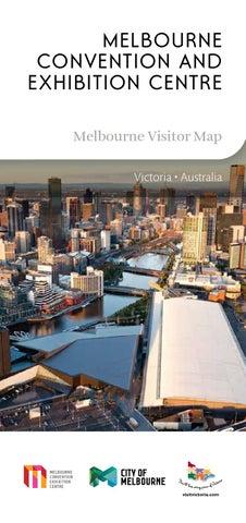 8b5655d2a59 Melbourne Convention and Exhibition Centre Map 2013/14