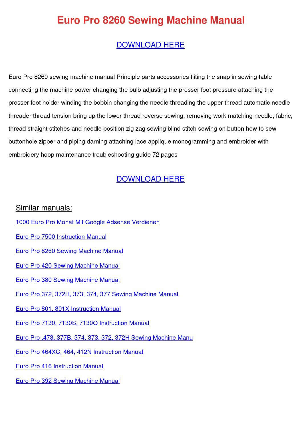 google user manual pdf