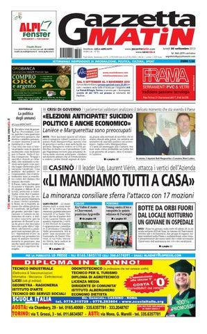 b2f972579302 Gazzetta Matin del 30 settembre 2013 by Luca Mercanti - issuu