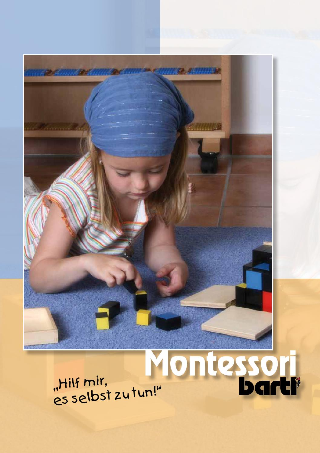 Montessori Mathematik Material Pfeile für komplette Perlen Material